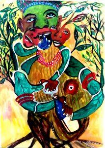 Fruitful woman tree