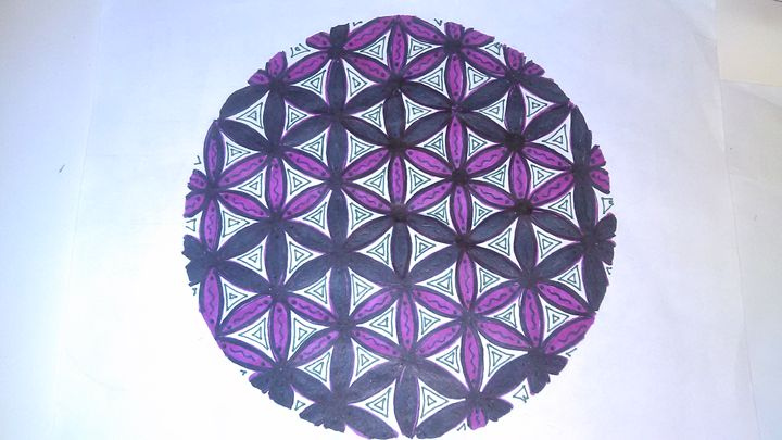 Flower of Life Mandala - Michelle's Magnificent Mandalas