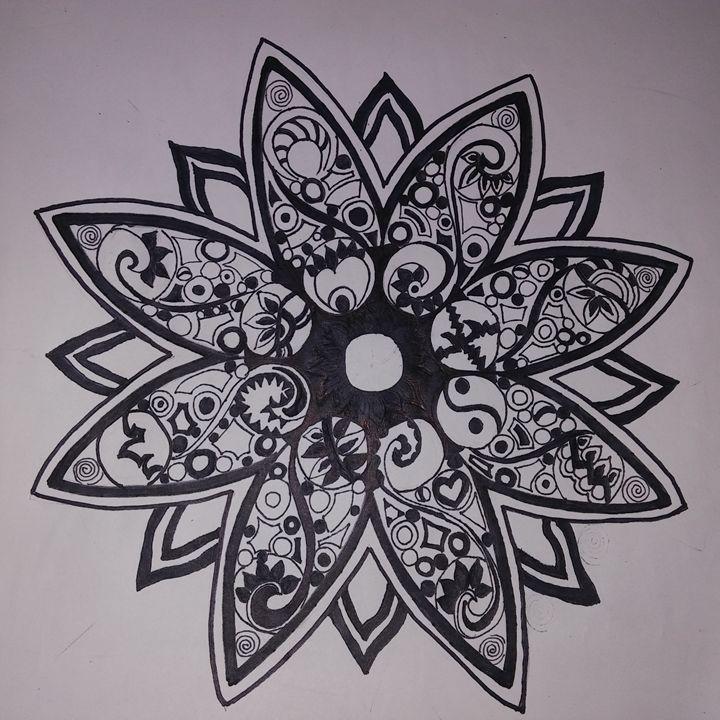 Hand Drawn Geometric Mandala - Michelle's Magnificent Mandalas