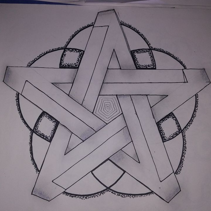 Impossible Star Drawing - Michelle's Magnificent Mandalas