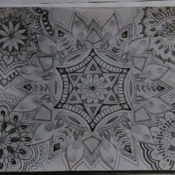 Hand Drawn Mandala - Michelle's Magnificent Mandalas