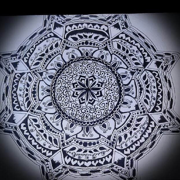 Hand Drawn Mandala - Michelle's Magnificent Mandalas