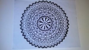 Hand Drawn Mandala