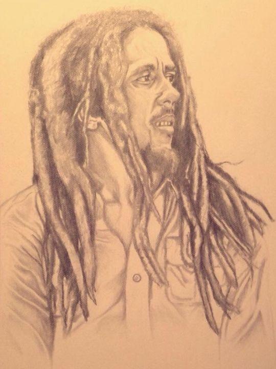Bob Marley portrait - MPHCreation