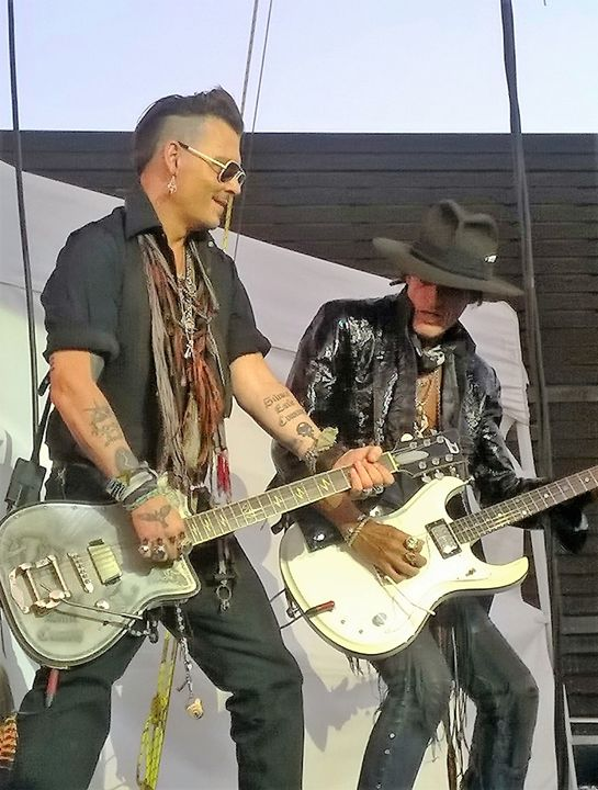 Johnny Depp Perry Hollywood Vampires - sheryl chapman photography