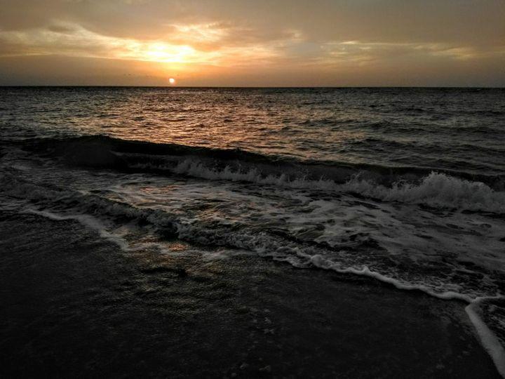 Aguada Puerto Rico Beach Sunset - sheryl chapman photography
