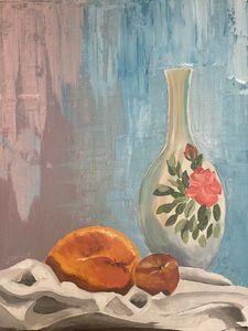 Vase and Mango