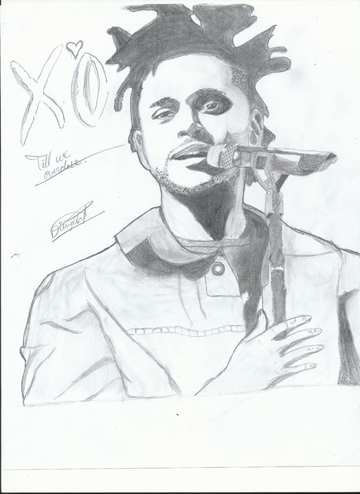 The Weeknd Fan Art - I don't even know