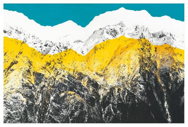 Yellow Peaks I - Kim Youdan
