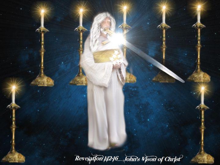 John's Vision of Jesus - DIVINE CREATIONS