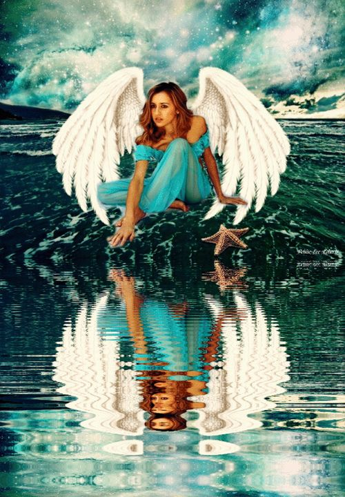 Angel Over The Sea - DIVINE CREATIONS