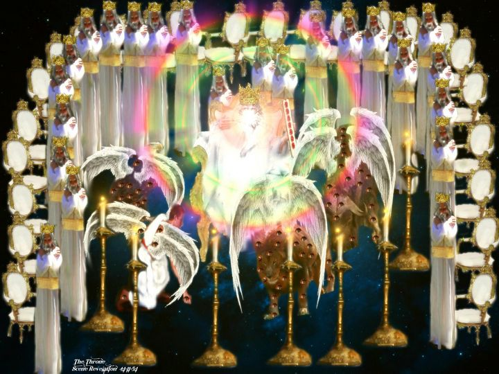 Revelation The Throne - DIVINE CREATIONS