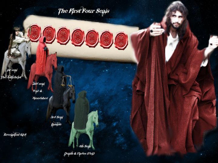 The First 4 Seals - DIVINE CREATIONS