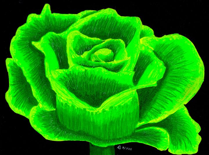 Green Flower - Ben Foster's Portfolio