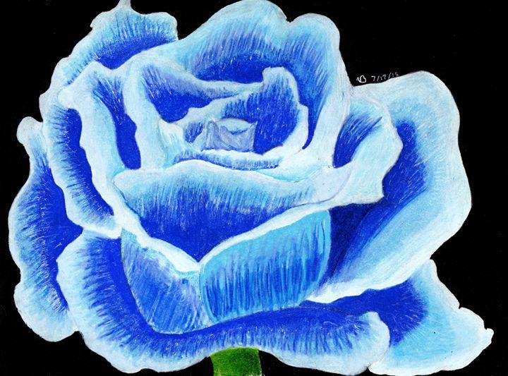 Blue Flower - Ben Foster's Portfolio