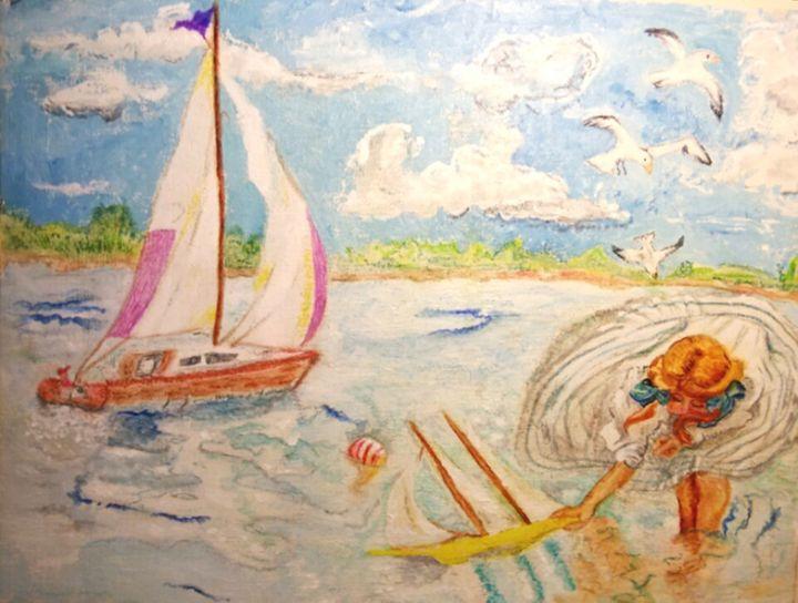 The None Such Sailboat - Michelle Reid~Hawley