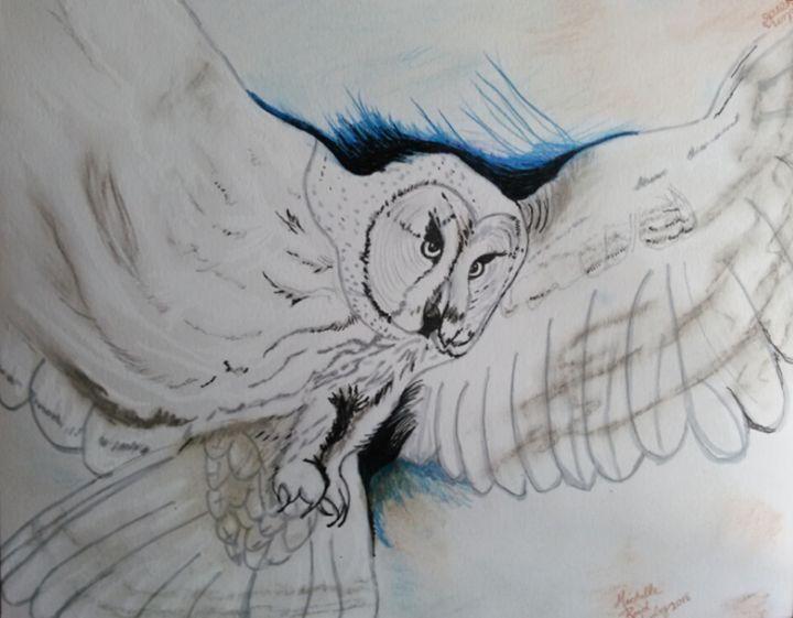 White Owl Of Wisdom - Michelle Reid~Hawley