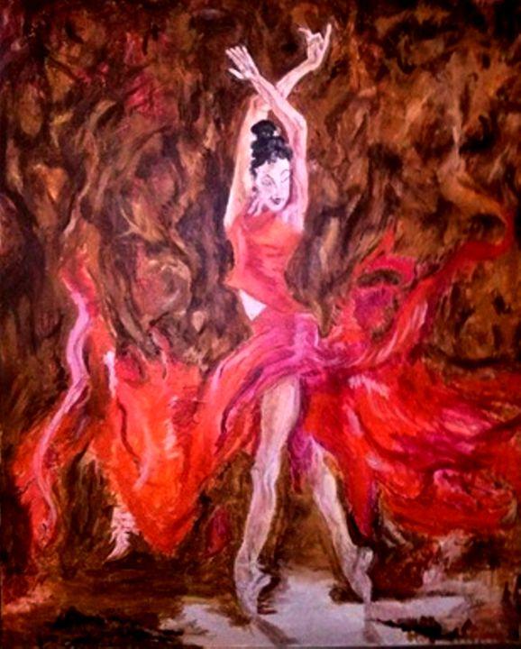 Love Of The Dance In Flight - Michelle Reid~Hawley