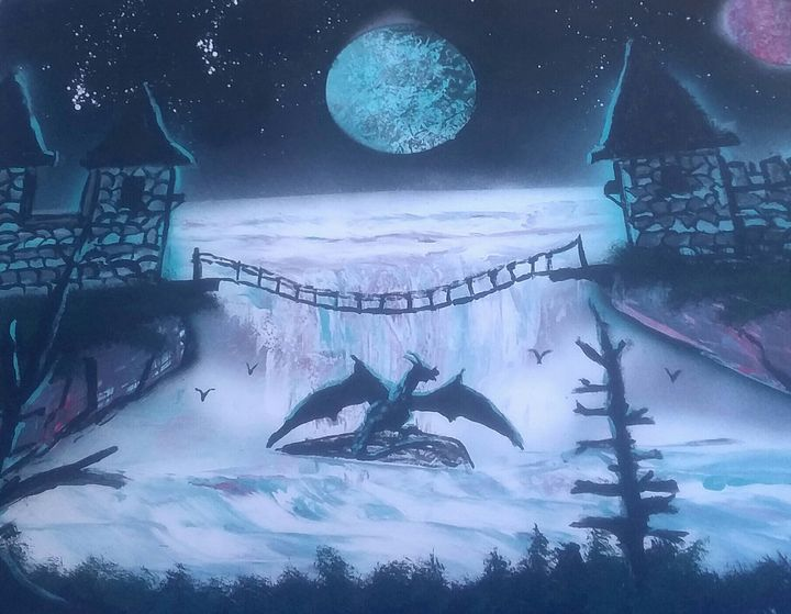 Dragon mist - Joe's art