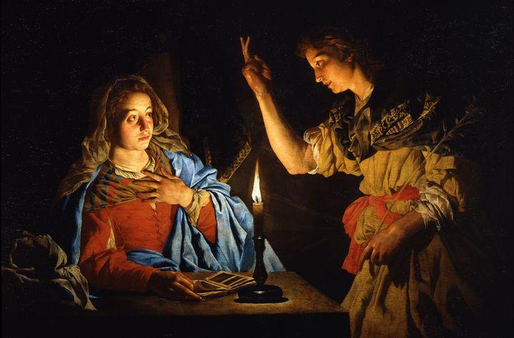 The Annunciation - Galleria di Pennellate