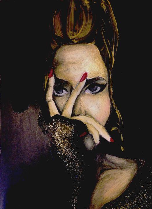 Lady in black - Mehul Rai