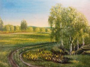 """Landscape """"Sunny day"""""""
