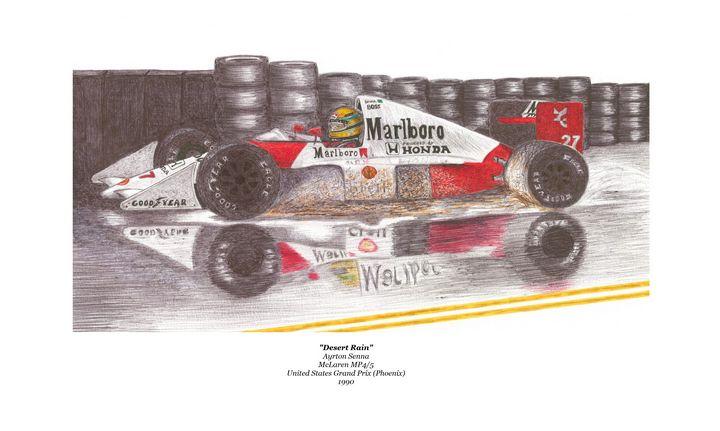 Desert Rain - Obrohta Racing Art