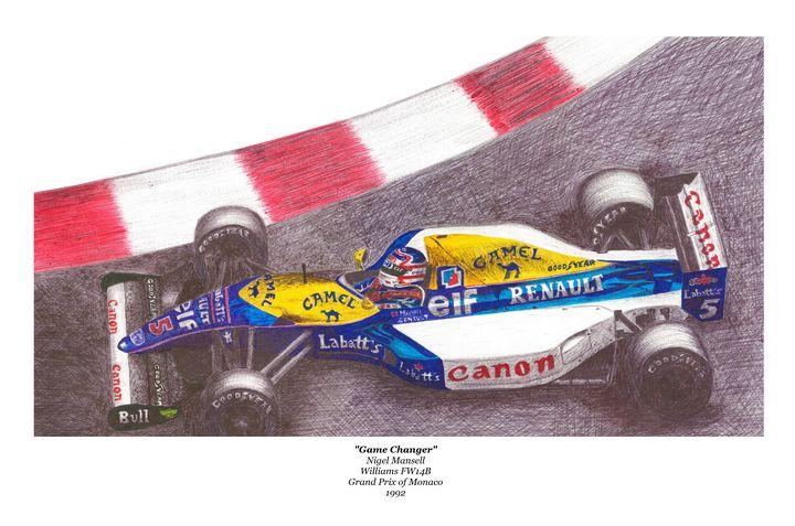 Game Changer - Obrohta Racing Art