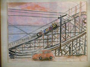 Norfolk Va. OceanView roller coaster - Alice Creighton
