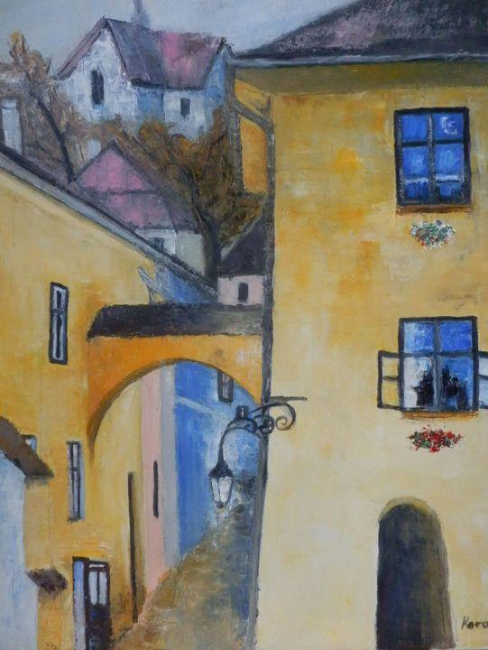 The yellow house - Maria Karalyos
