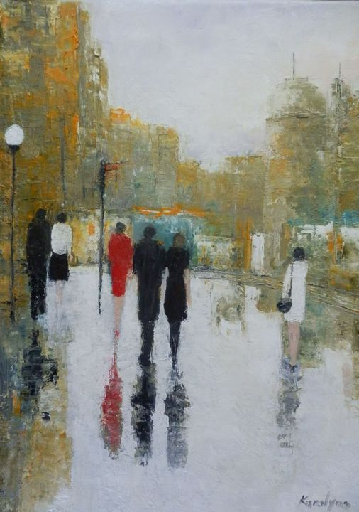 People in the city - Maria Karalyos