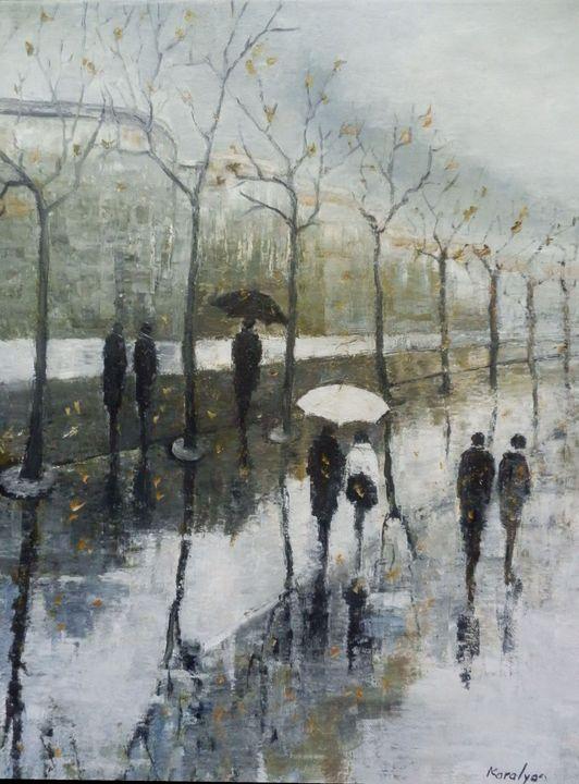 Leafless trees - Maria Karalyos