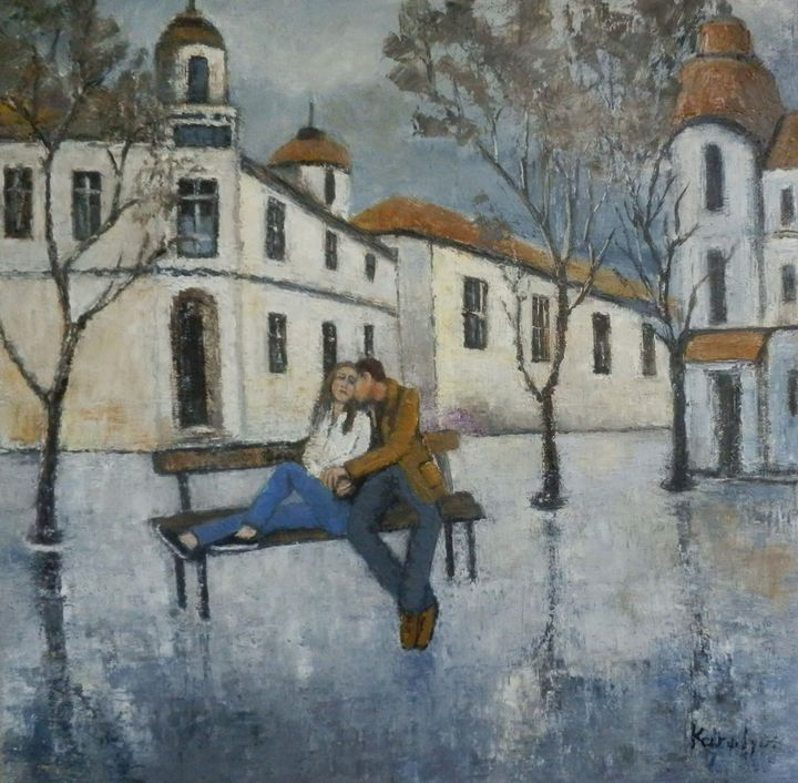 Two on a bench - Maria Karalyos