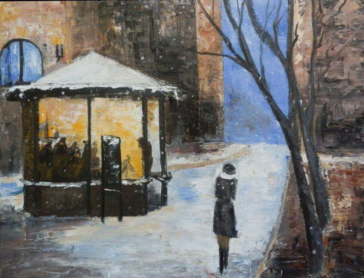 Blue night - Maria Karalyos