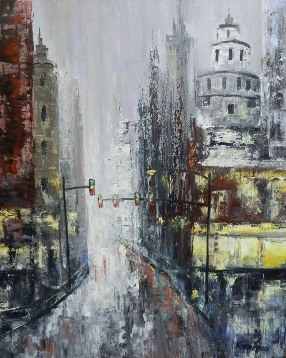 Empty street - Maria Karalyos
