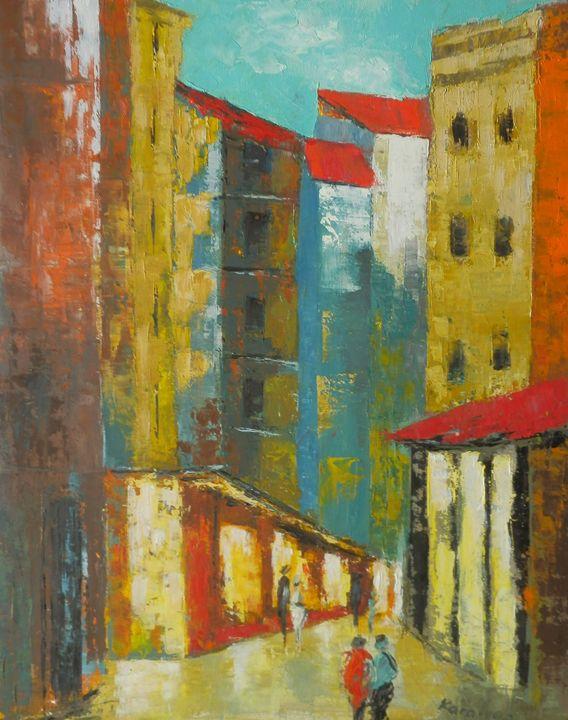 The city - Maria Karalyos