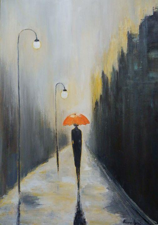Lonely woman - Maria Karalyos