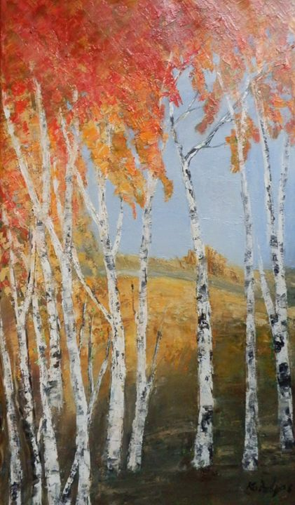Birches forest - Maria Karalyos