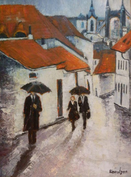 Rainy day - Maria Karalyos