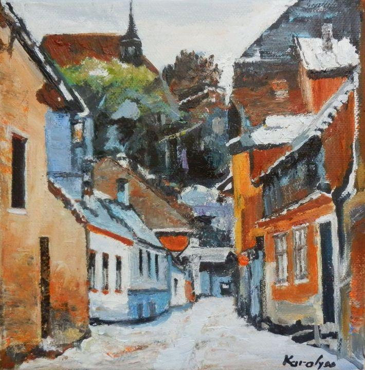 Sighisoara street - Maria Karalyos