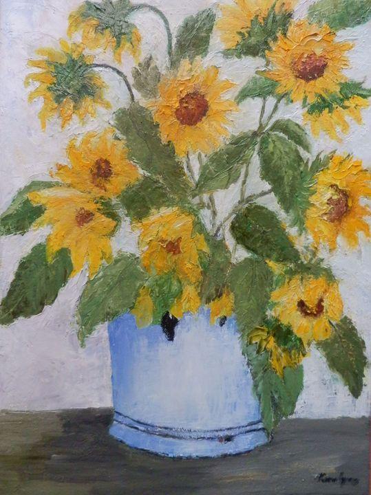 Sunflower bouquet - Maria Karalyos