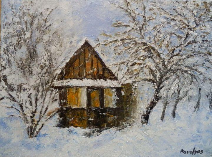 The last snow - Maria Karalyos