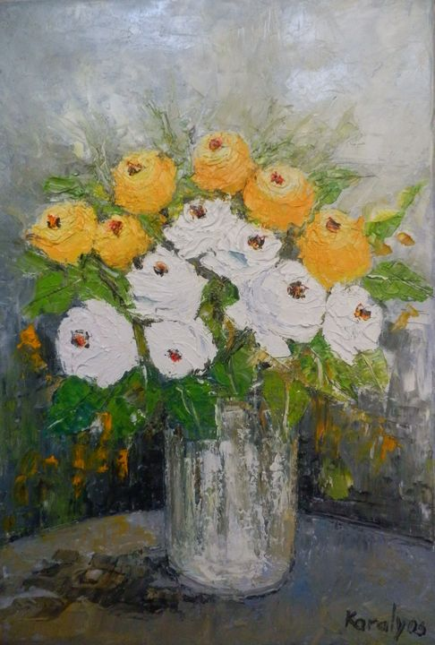 Roses,roses - Maria Karalyos