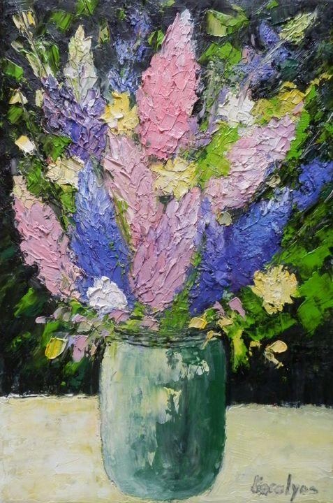Spring flowers - Maria Karalyos