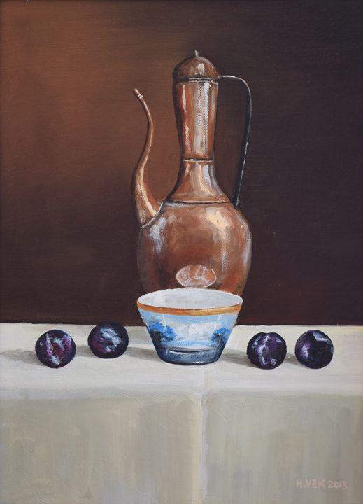 copper pot - Kev Houlihan