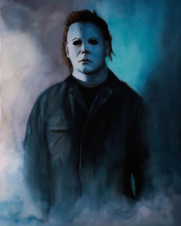 Michael Myers - Watercolour Painting - Kieran O'Connor
