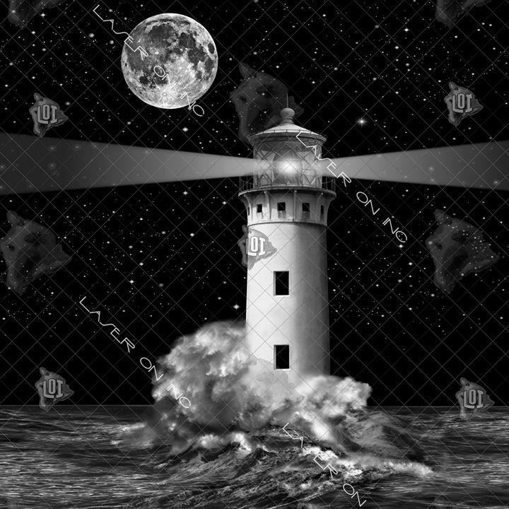 lighthousemoon-12in - Laser On Inc
