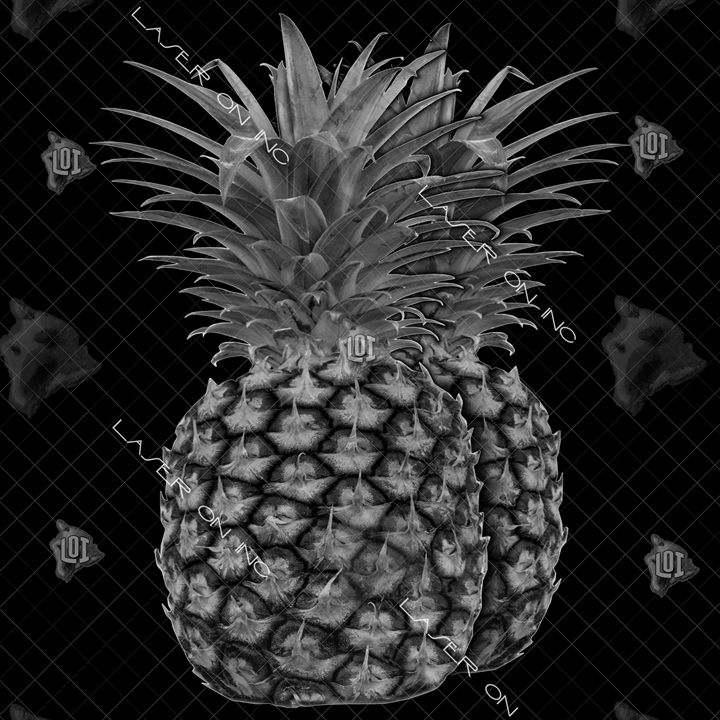 pineapples-12in - Laser On Inc