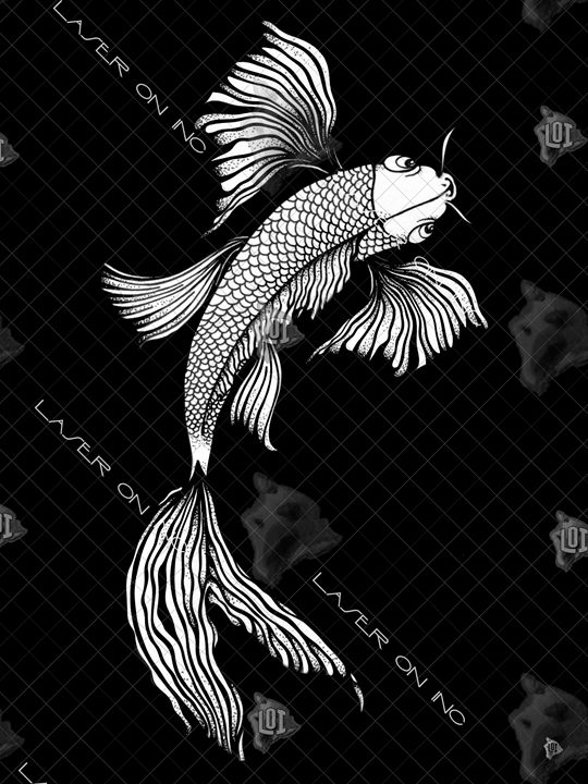 vertical-koi-art1-sd - Laser On Inc