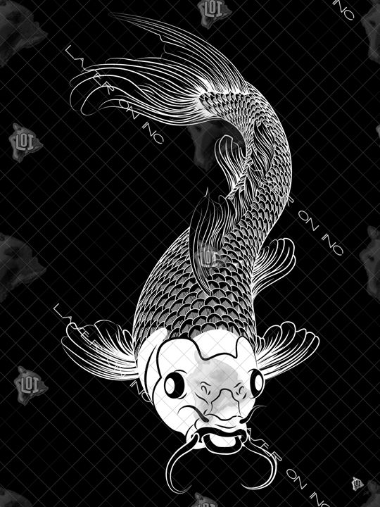 vertical-koi-art6-sd - Laser On Inc